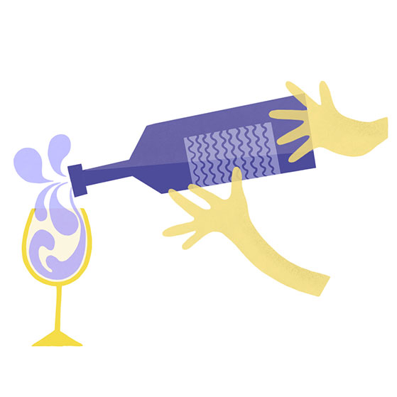 Wine-Tasting-pour wine