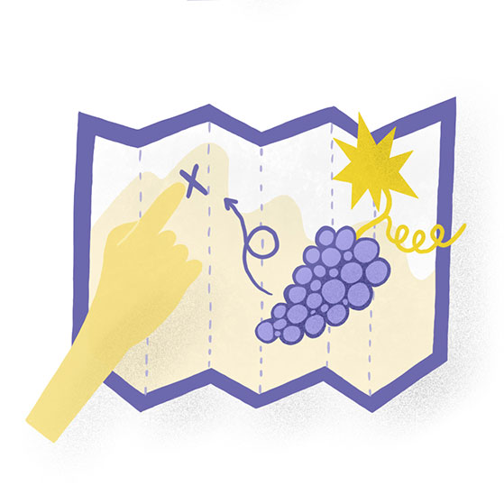 Wine-Tasting-Wine map